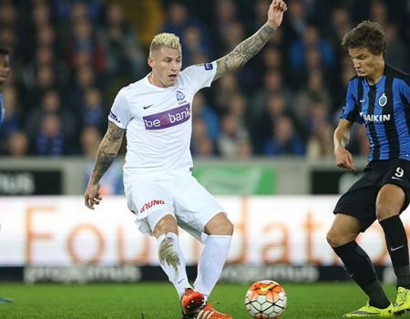 Courte défaite 1-0 au Club Bruges