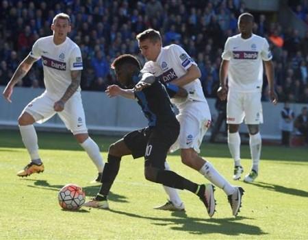Genk s'incline 3-1 à Bruges