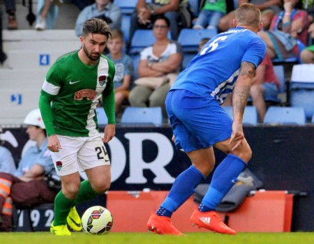 Genk s'impose 1-0 face à Cork City en Europa League