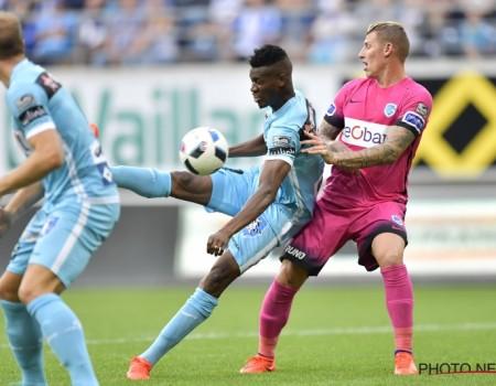 Genk s'incline sur le fil 1-0 à la Gantoise