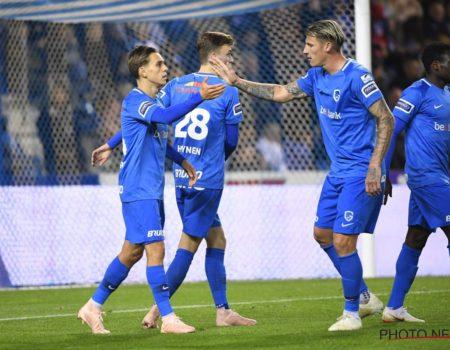 Genk l'emporte 2-1 contre Eupen