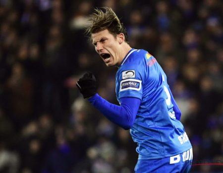 Genk s'impose 3-1 contre La Gantoise avec un but de Sébastien Dewaest.