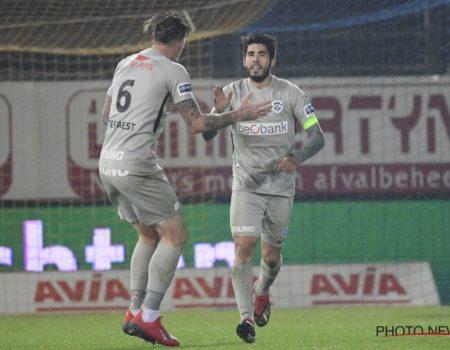 Genk s'impose 1-2 à Waasland-Beveren.