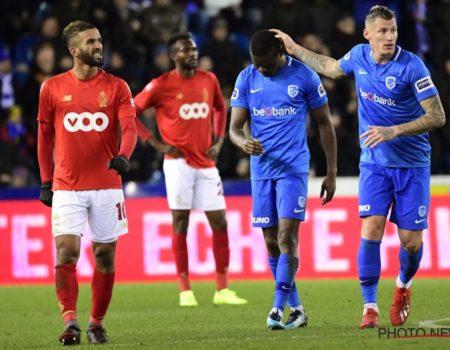 Genk s'impose 2-0 face au Standard de Liège
