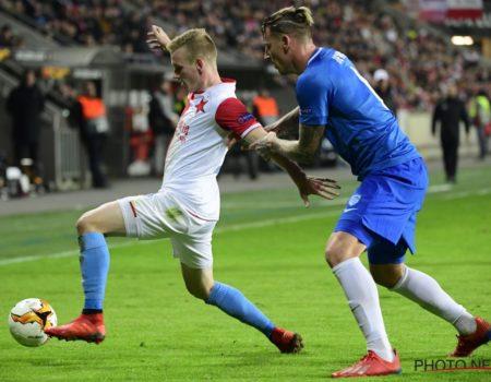 Europa League : Genk accroche le nul 0-0 au Slavia Prague