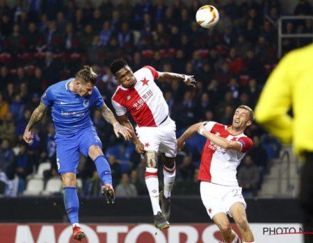 Genk éliminé de l'Europa League par le Slavia Prague