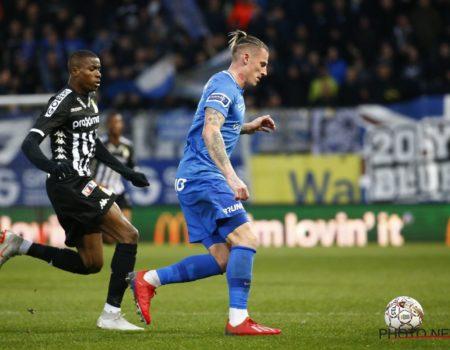 Genk se contente du nul 1-1 à Charleroi.