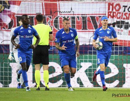 Genk prend l'eau à Salzbourg pour son premier match en Ligue des Champions