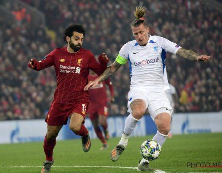 Genk fait bonne figure à Liverpool mais s'incline 2-1