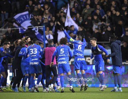 Belle victoire 4-1 contre Waasland-Beveren.