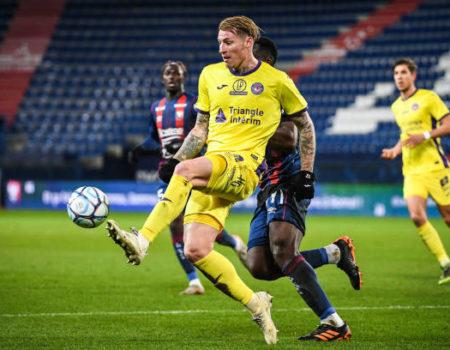 Toulouse accroche le nul 2-2 à Caen