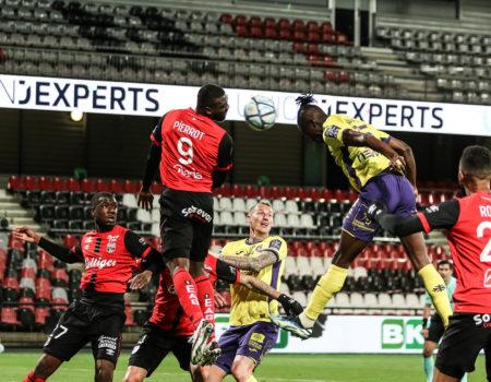 Toulouse accroché à Guingamp 1-1