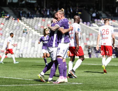 Toulouse bat Nancy 4-1