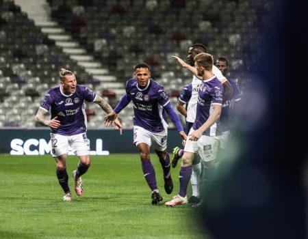 Toulouse s'impose 1-0 face à Châteauroux